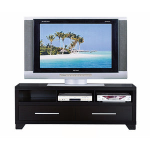 Rich and Elegant TV Stand With Storage, Black