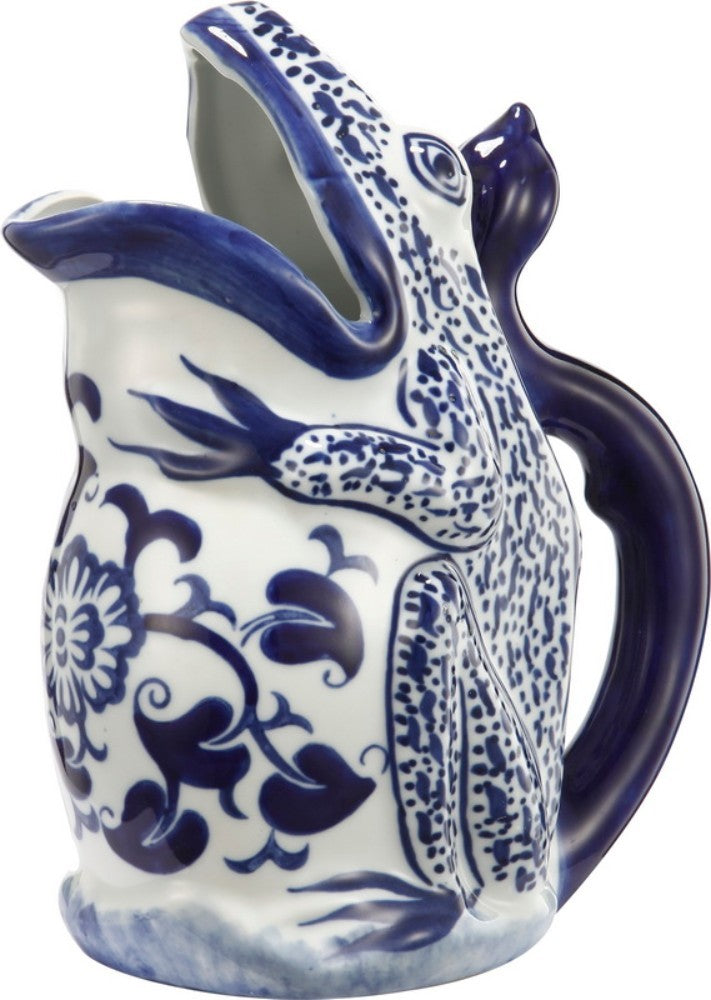 Decorative Frog Shaped Pitcher