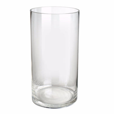 Tall Minimal Glass Vase