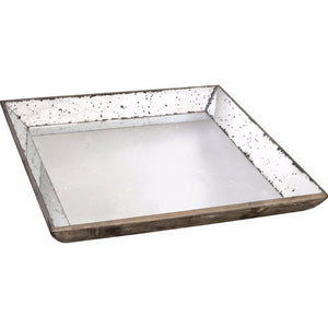 Waverly Mirrored Square Tray, Large