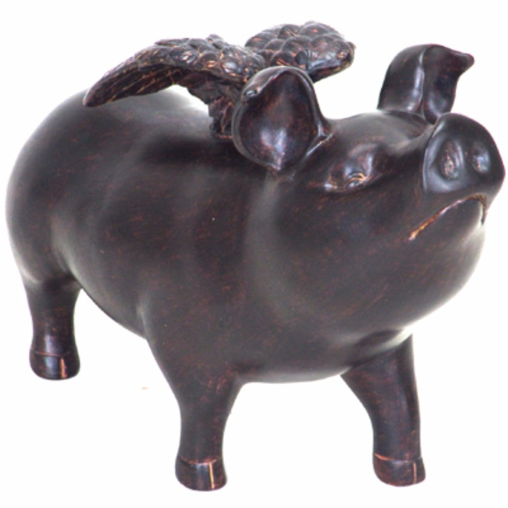 Flying Pig Sculptural Accent, Large