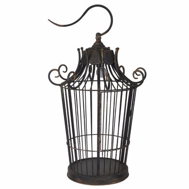 Old-World Styled Birdcage Table Lamp