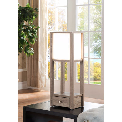 Magnificent Spacious Table Lamp With Soft Glow, Light Brown