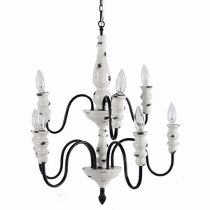 Effortlessly Sublime 8-Arm Chandelier