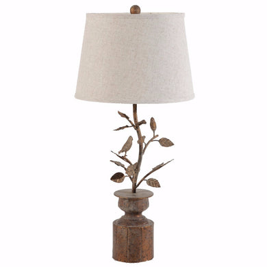 Nature Inspired Hawthorn Birds Lamp