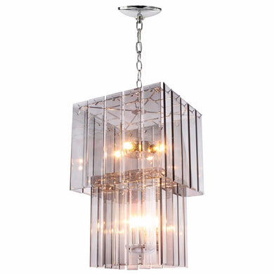 Voguish Malva Glass Ceiling Pendant Large