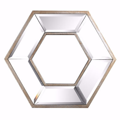 Appealing Contemporary Style Hexagon Wall Art