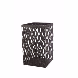 Functionally Appealing Woven Metal Basket