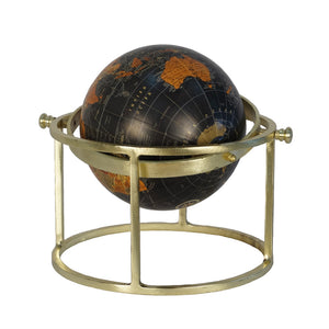 Globe On Ring Stand, Multicolor