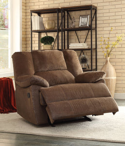 Oliver Oversized Glider Recliner, Chocolate Corduroy