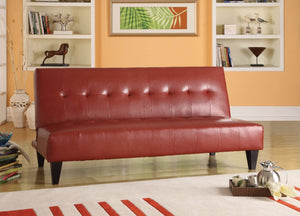Adjustable Sofa, Red