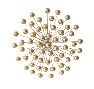 CELESTIAL MULTI ORB WALL DECOR, GOLD