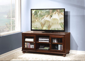 TV Stand, Walnut Brown