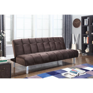 Trendy Modern Sofa Bed, Chocolate Brown