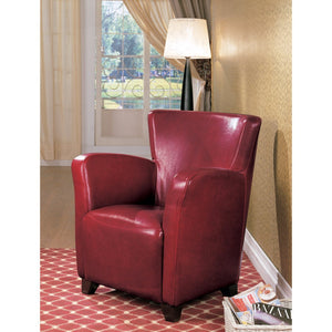 Highly Classy Accent Chair, Red