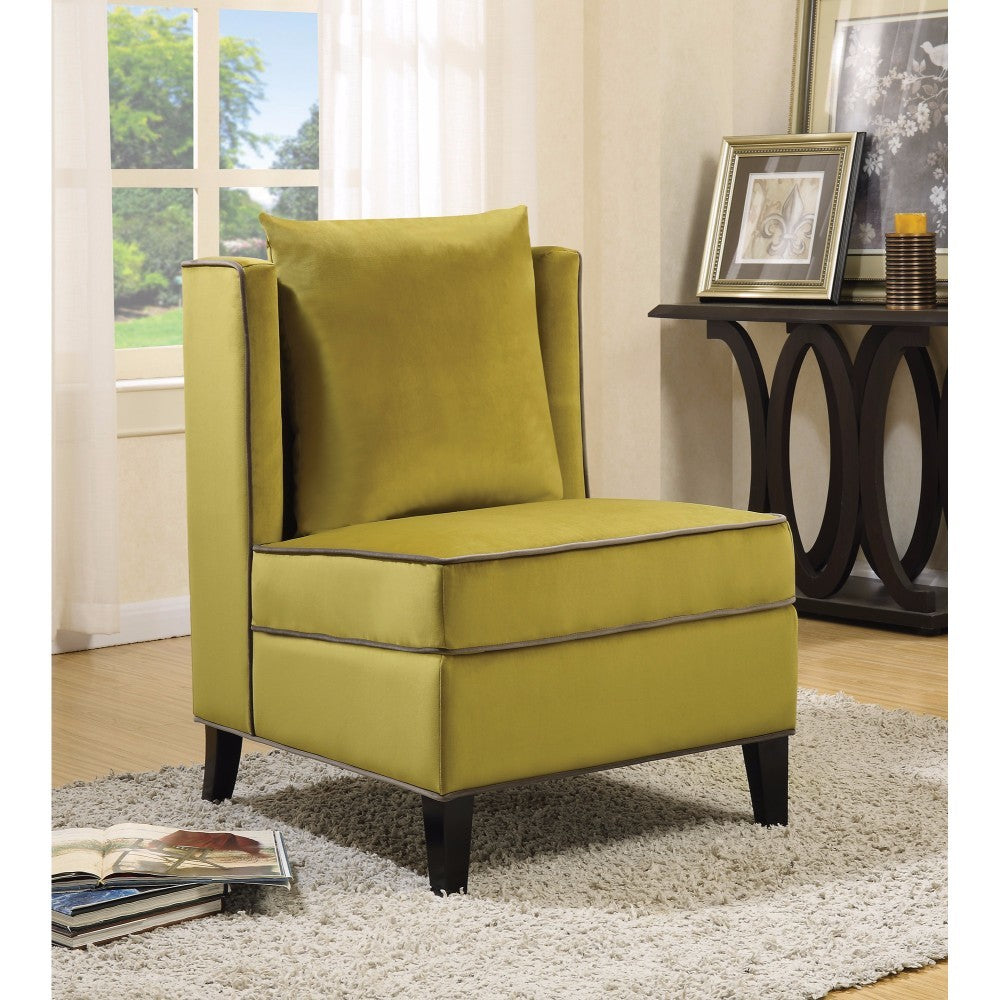 Rustically Charming Accent Chair, Yellow