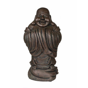 Laughing Buddha Standing, Brown