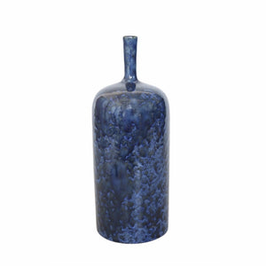 Bottle Vase In Blue