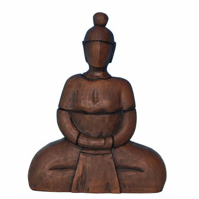 Peaceful Sitting Buddha Sculpture