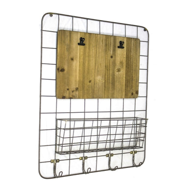 Downrightly Rational Metal Wall Organizer