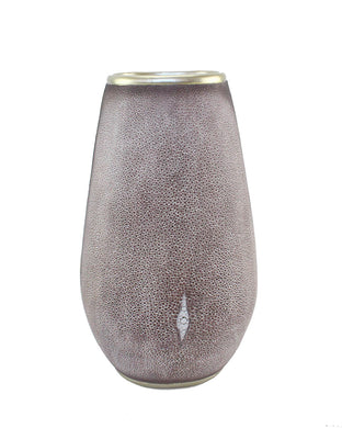 Charming Polyresin Pearl Fish Flower Vase, Gray