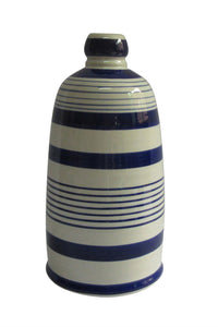 Magnificent Decorative Ceramic Vase, Blue  And White
