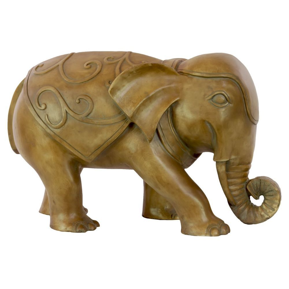 Resin Walking Elephant Statue