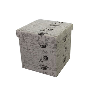 Paris Appearance Storage Ottoman by Urban Port