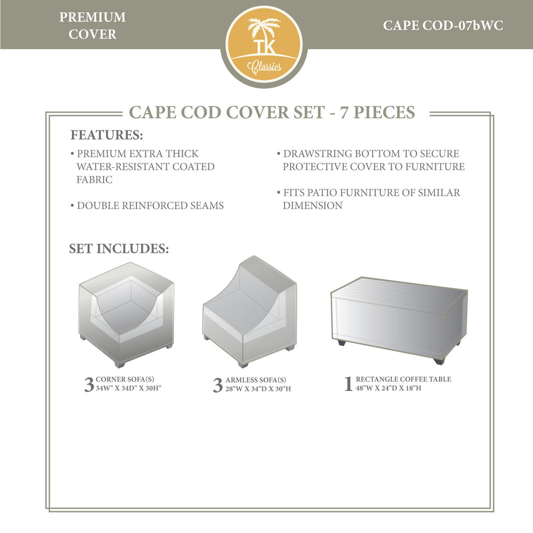 CAPECOD-07b Protective Cover Set