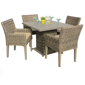Cape Cod Square Dining Table with 4 Chairs