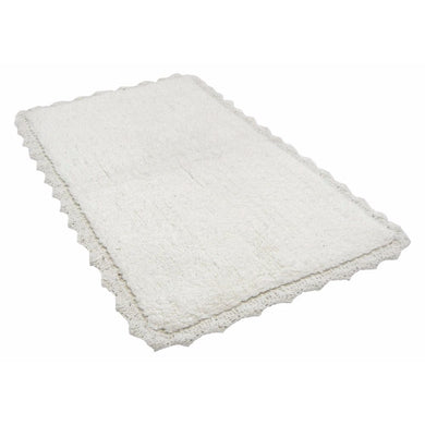 White Crochete Mat