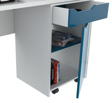 Desk with Swing out Storage