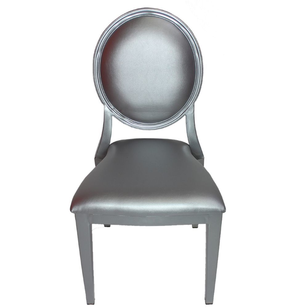 Enticing Louis Chair With Steel Frame