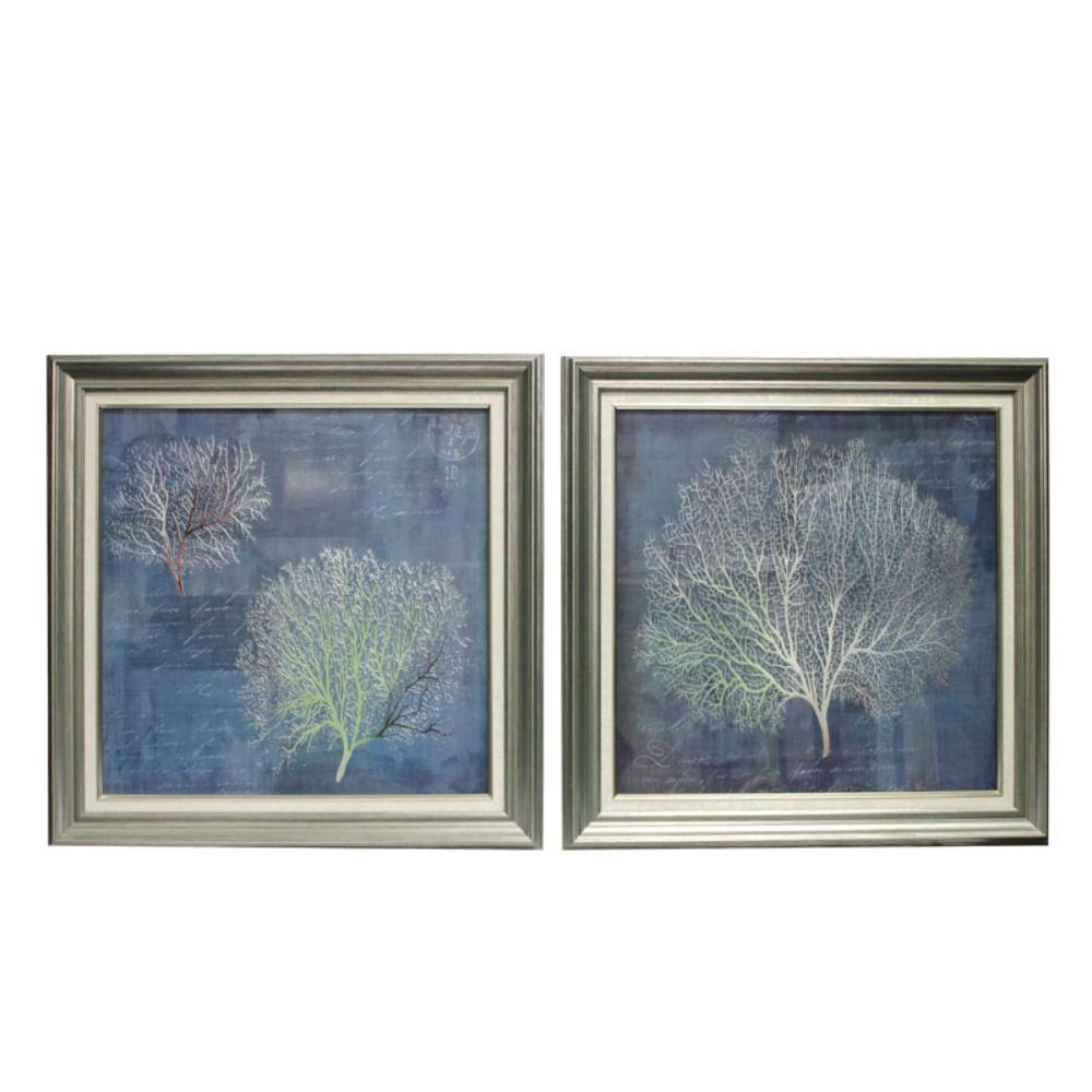 Amazing Nature Wall Decor-Set of 2 - Benzara