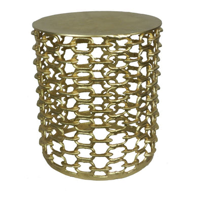 Durable Metal Stool - Benzara