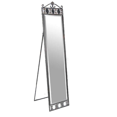 Striking Mirror With Stand