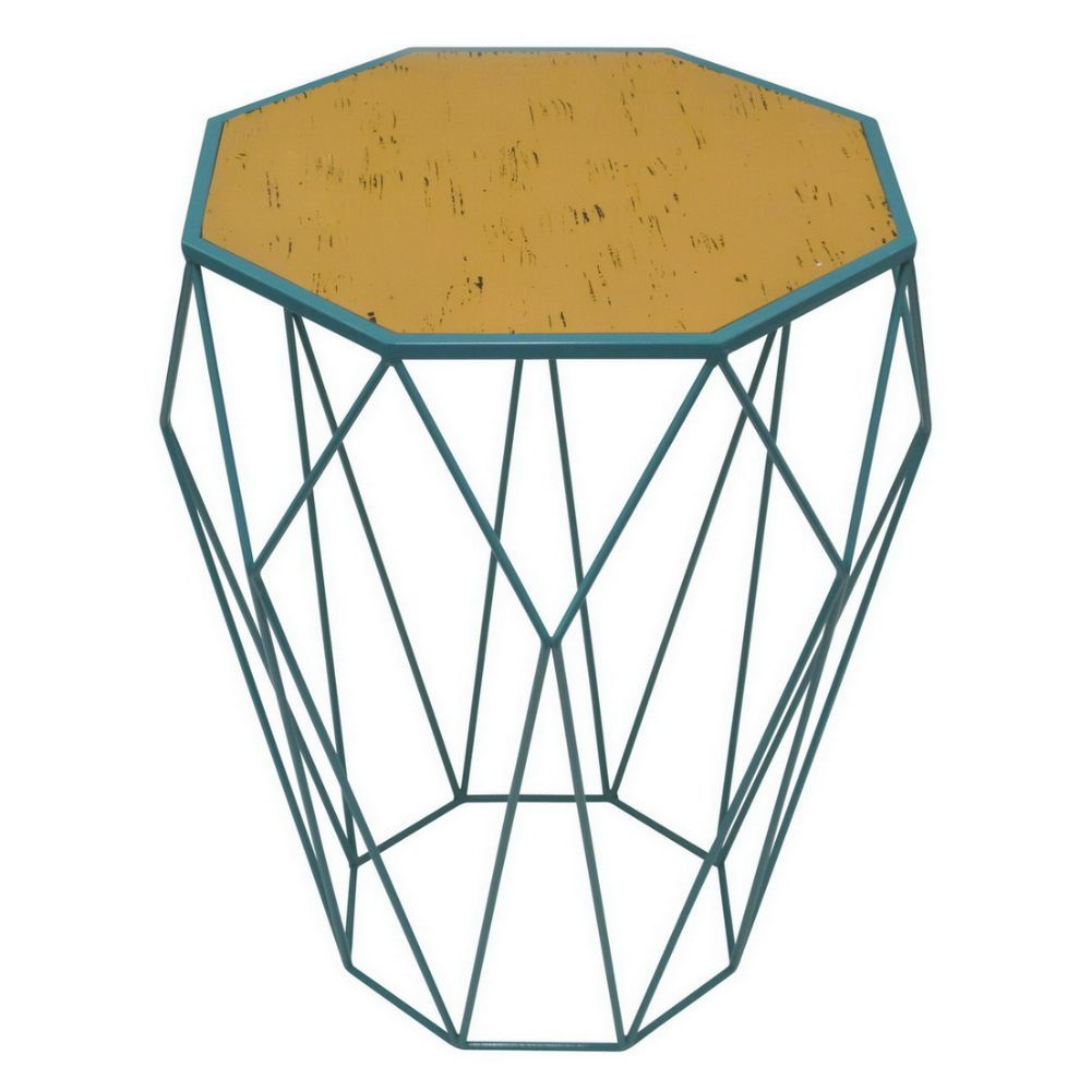 Gorgeous Metal Accent Table