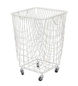 Excellent Metal Rolling Basket - White