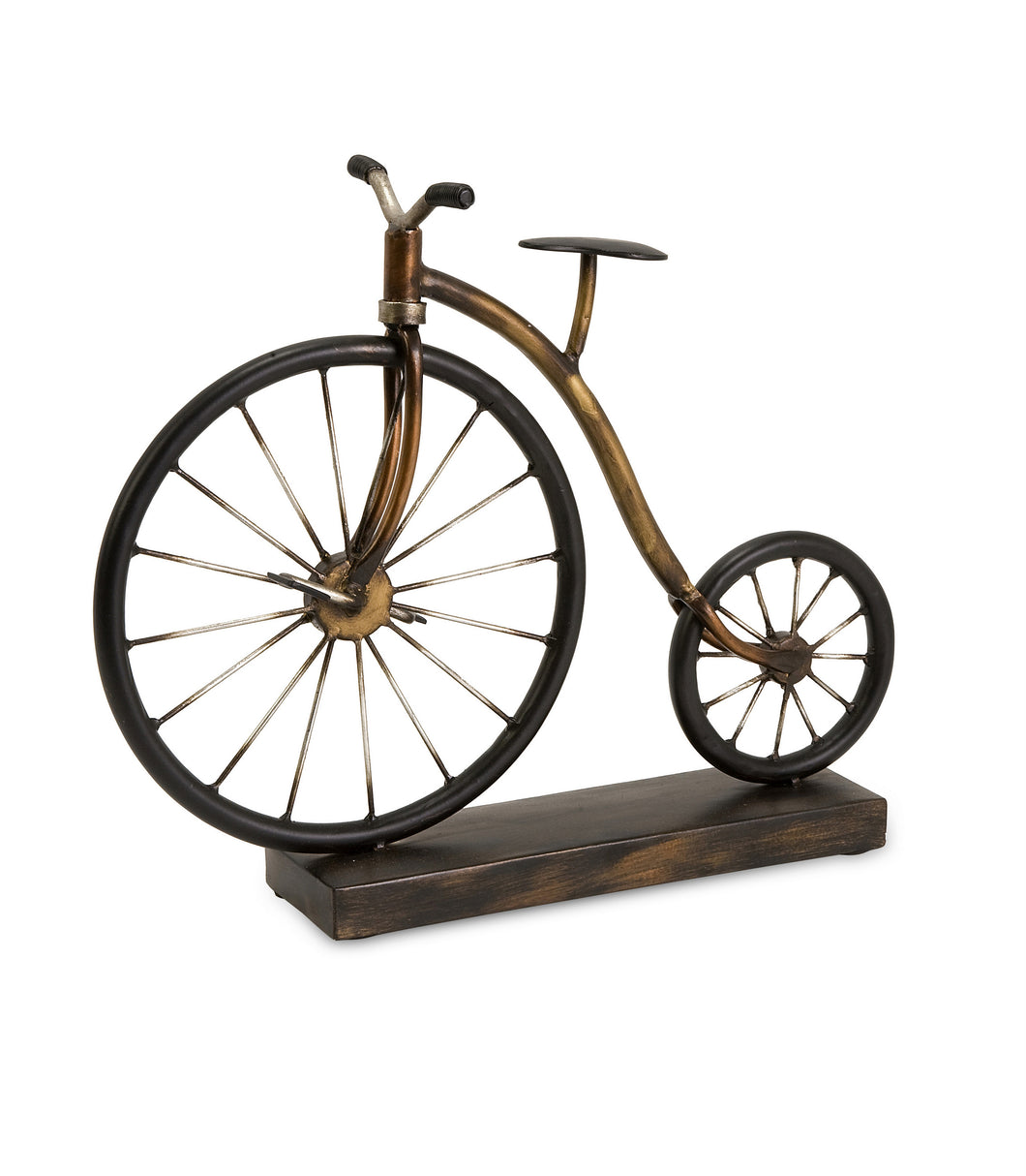 Wonderfully Crafted Big Wheel Bicycle Statuary
