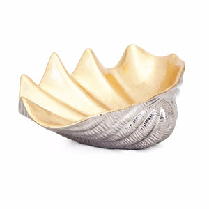Ceramic Shell Decorative Bowl