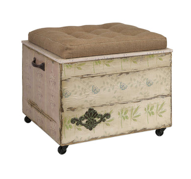Adorable Ella Elaine Crate Storage Ottoman