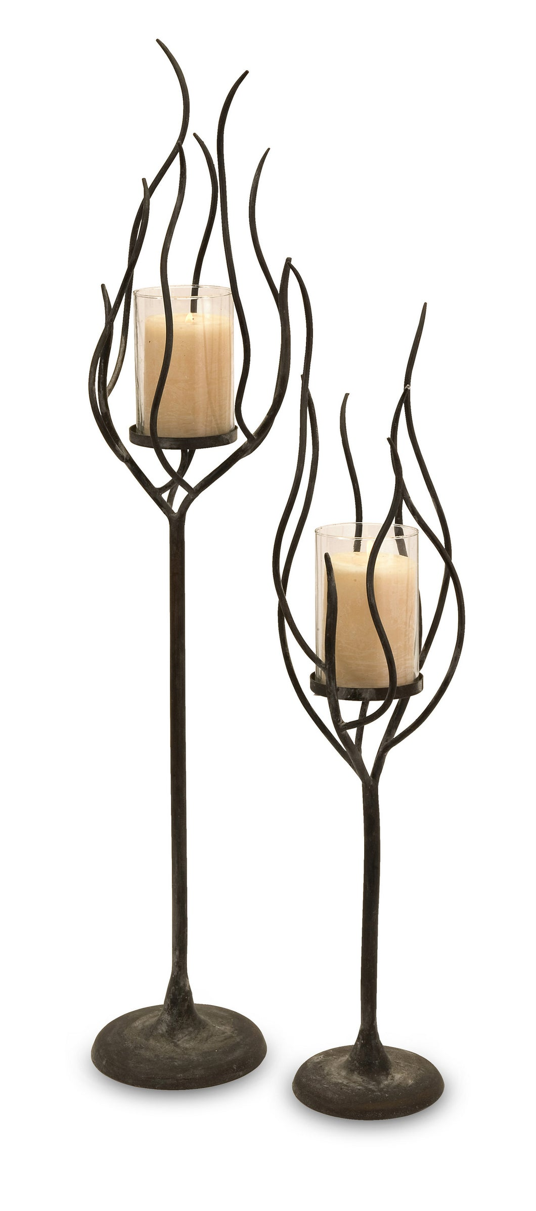 Anemone Candle Holder - Set of 2