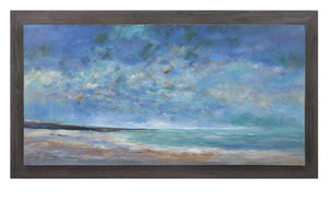 Classic Sea of Dreams Wood Framed Oil Painting