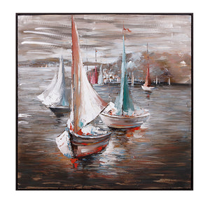 Sail Away Oil Painting