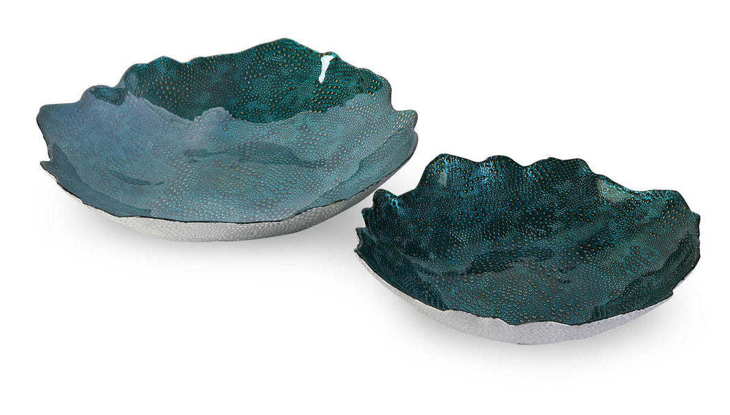 Set of 2 Amazing Belcove Glass Bowls