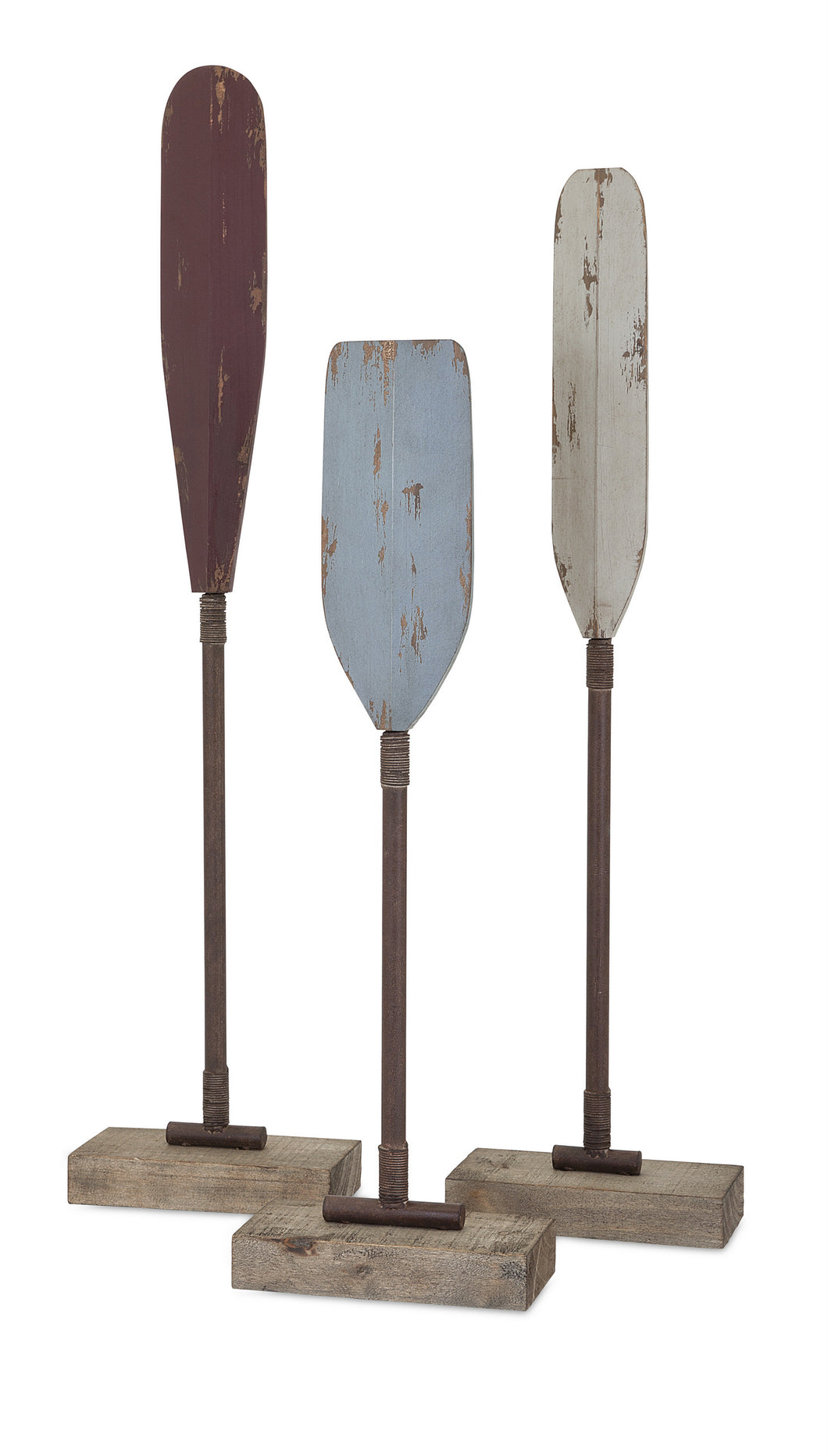 Delightful Edgar Ores Wood and Metal - Set of 3