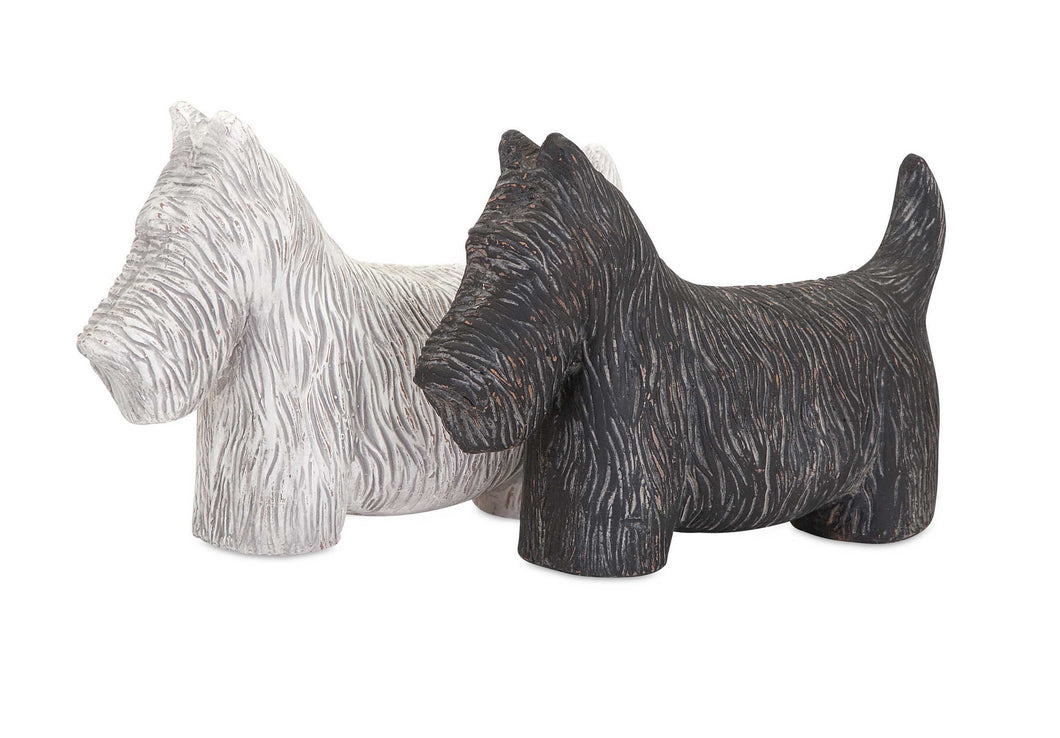 Cute Fetch Dog Statuaries - Assorted 2