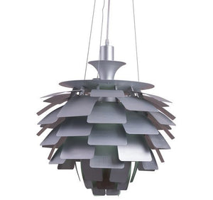 Pedal Chandelier White 19""