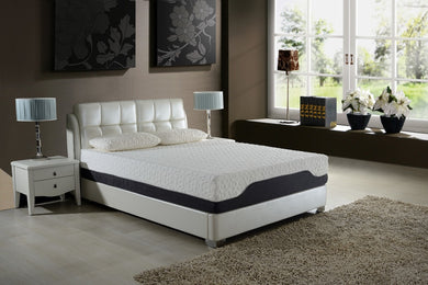 11.5 California King Plush Pocketed Coil  Mattress with  Cool Gel Memory Foam