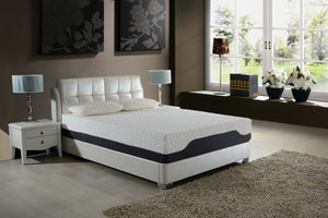 11.5 Queen Plush Pocketed Coil  Mattress with  Cool Gel Memory Foam